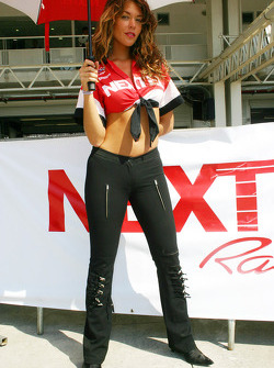 A lovely Nextel girl