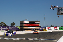#22 Ferrari of Ft. Lauderdale Ferrari 458 Challenge: Enzo Potolicchio takes the checkered flag