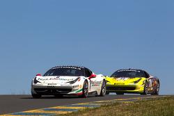 #8 Ferrari of Ft. Lauderdale Ferrari 458 Challenge, #27 Ferrari of Houston Ferrari 458 Challenge: Mark McKenzie
