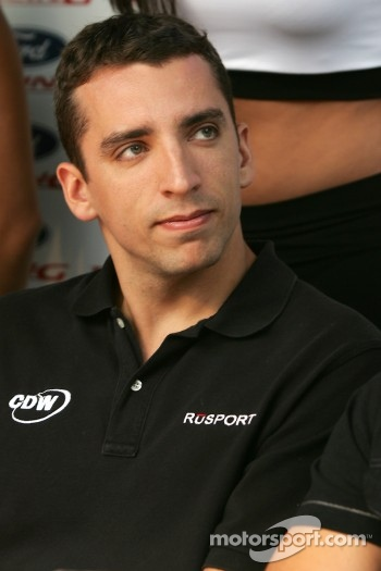 Ford Racing Festival on Crescent street: Justin Wilson