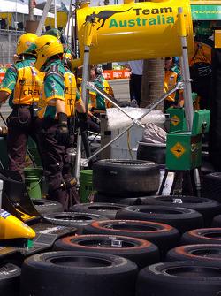 Team Australia pitbox