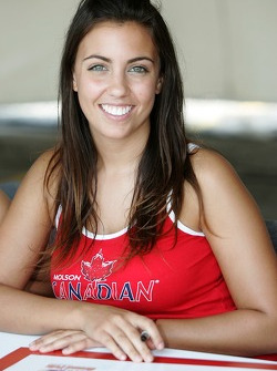 A Molson Canadian girl