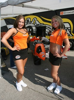 Lovely Champ Car girls