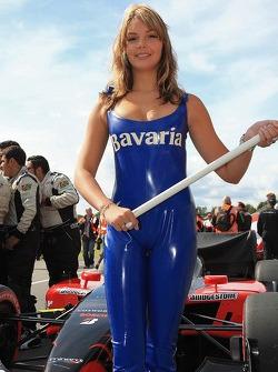 A Bavaria Champ Car Grand Prix of Assen girl