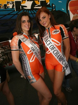 The lovely Miss Grand Prix of Houston 2006 and Face of Champ Car 2006