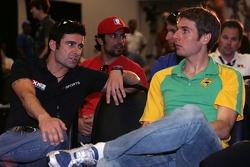 Thursday press conference: Alex Tagliani and Will Power