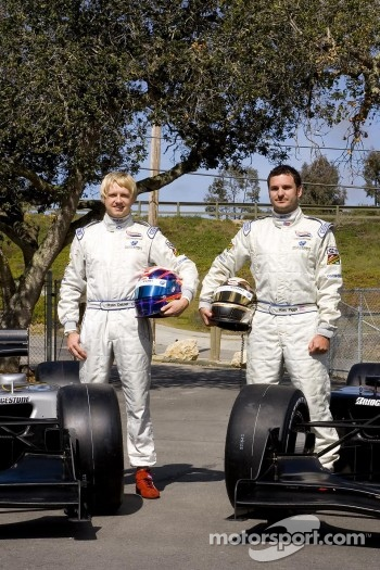 Ryan Dalziel and Alex Figge