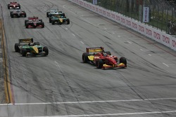 Start: Sébastien Bourdais lead Will Power