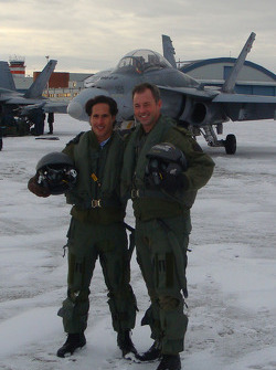 Mario Dominguez with Captain Paul