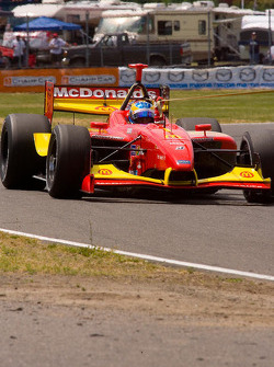 Sébastien Bourdais ran out of fuel