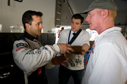 Peugeot Sport media event: Pedro Lamy and Johnny O'Connell