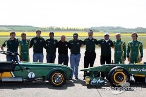 Ricardo Teixeria, Mike Gascoyne, Team Lotus, Chief Technical Officer, Tony Fernandes, Team Lotus, Team Principal, Ansar Ali, Caterham Cars, Heikki Kovalainen, Team Lotus