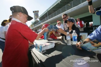 Autograph session: Danica Patrick