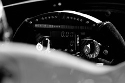 Instrument panel of the Super Aguri Panther Racing Dallara