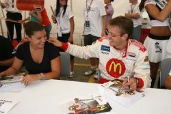 Katherine Legge and Sébastien Bourdais
