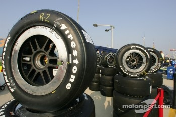 Firestone tires ready to go