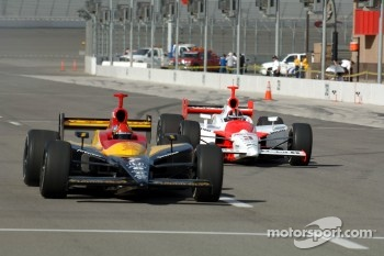 Bryan Herta and Helio Castroneves