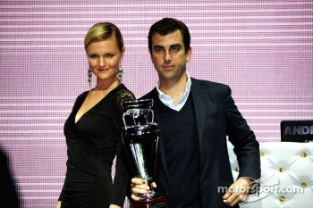 GP2 launch party, Billionaire Istanbul: Barwa Addax Team pick up their trophy