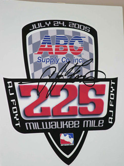 Logo for the ABC Supply/A.J. Foyt 225 at The Milwaukee Mile