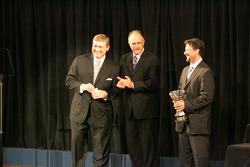 Michael Andretti accepts championship team award