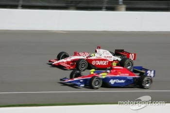 Ryan Briscoe and Roger Yasukawa