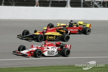 Dan Wheldon, Bryan Herta and Scott Sharp
