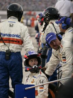 Super Aguri Fernandez Racing crew members