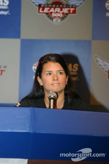 Danica Patrick press conference