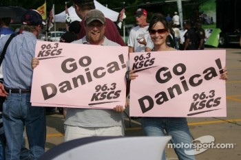 Fans of Danica Patrick