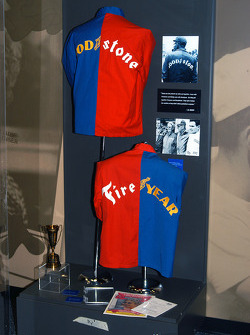 Mom and Pop Unser's famous Goodstone and Fireyear jackets from 1965 Indy 500