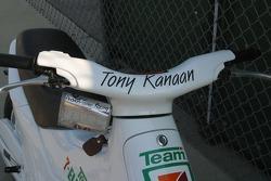 Tony Kanaan's scooter