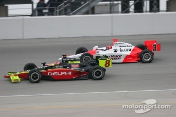 Scott Sharp and Helio Castroneves