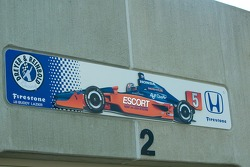 Buddy Lazier garage sign