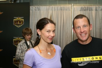 Ashley Judd and Lance Armstrong