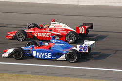 Dan Wheldon and Marco Andretti
