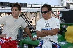 Hideki Mutoh and Kosuke Matsuura