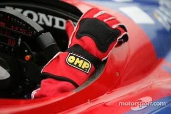 Racing glove of Marco Andretti