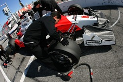 Team Penske crew member at work