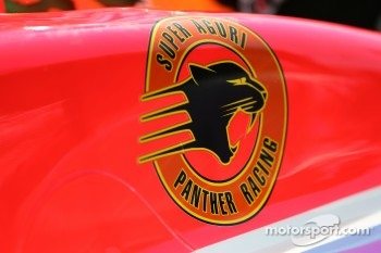 Detail of the Super Aguri Panther Racing Dallara
