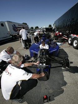 IndyCar two-seater car