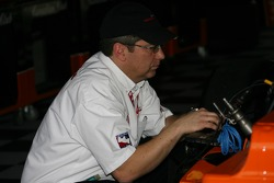Crew member at work