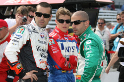 Dario Franchitti, Marco Andretti and Tony Kanaan