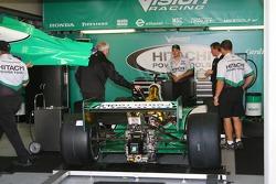 Vision Racing garage area