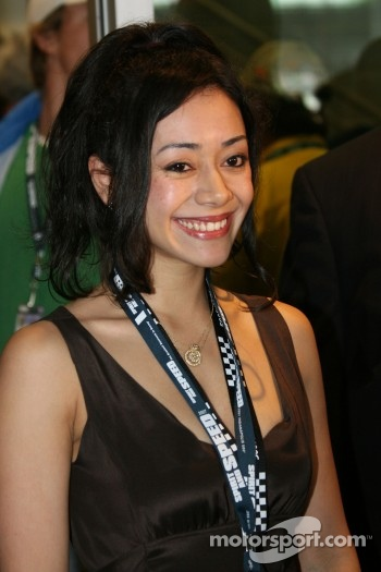 Aimee Garcia of the George Lopez Show