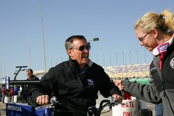 Johnny Rutherford and Sarah Fisher
