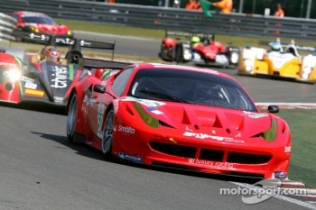 #58 Luxury Racing Ferrari F458 Italia: Franois Jakubowski, Anthony Beltoise, Jean-Denis Deletraz