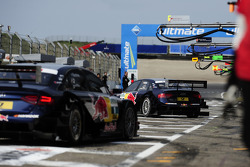Miguel Molina, Audi Sport Team Abt Junior Audi A4 DTM and Mattias Ekstrom, Audi Sport Team Abt Sportsline Audi A4 DTM