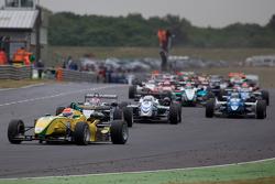 Felipe Nasr leads from the start