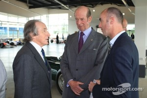 Sir Jackie Stewart and David Brabham