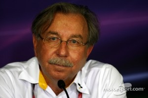 Jean-Francois Caubet, Managing director of Renault F1